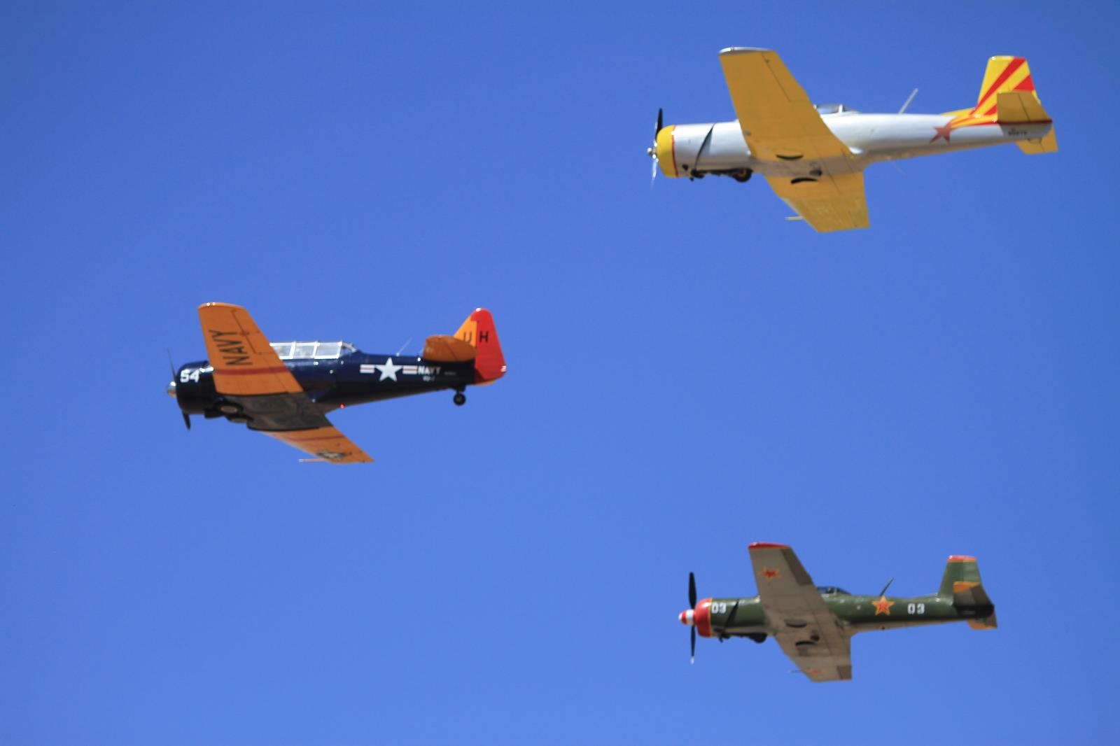 Aircraft  in Flight, Warbirds, Open House