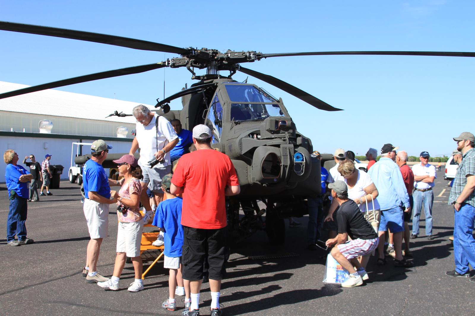 Apache Helicopter, Boeing Helicopter, Open House