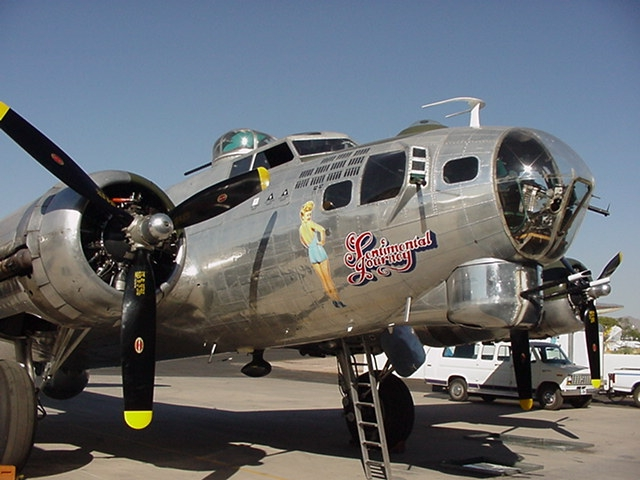 B17, Sentimental Journey, Flying Fortress, CAF