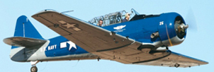 T-6 Texan SNJ Trainer, CAF