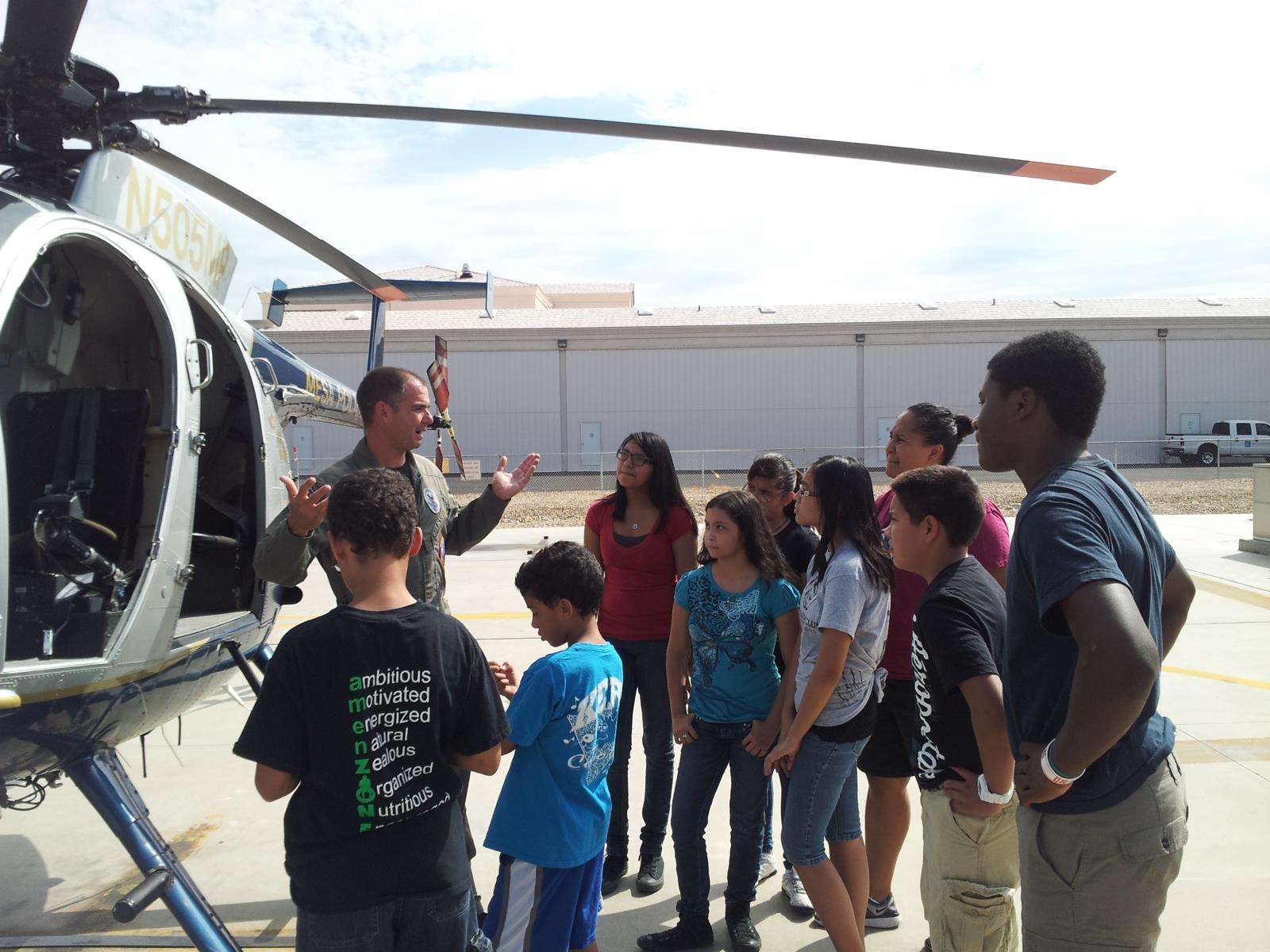 Tours, Tour Groups, Airport Tours, Mesa Police
