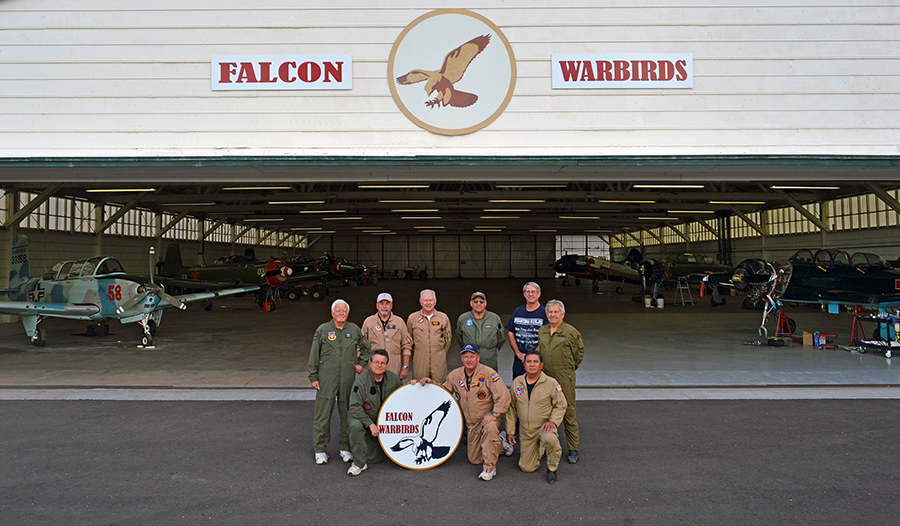 Falcon Warbirds Members