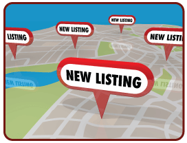 Property listing button